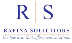 Rafina Solicitors Logo